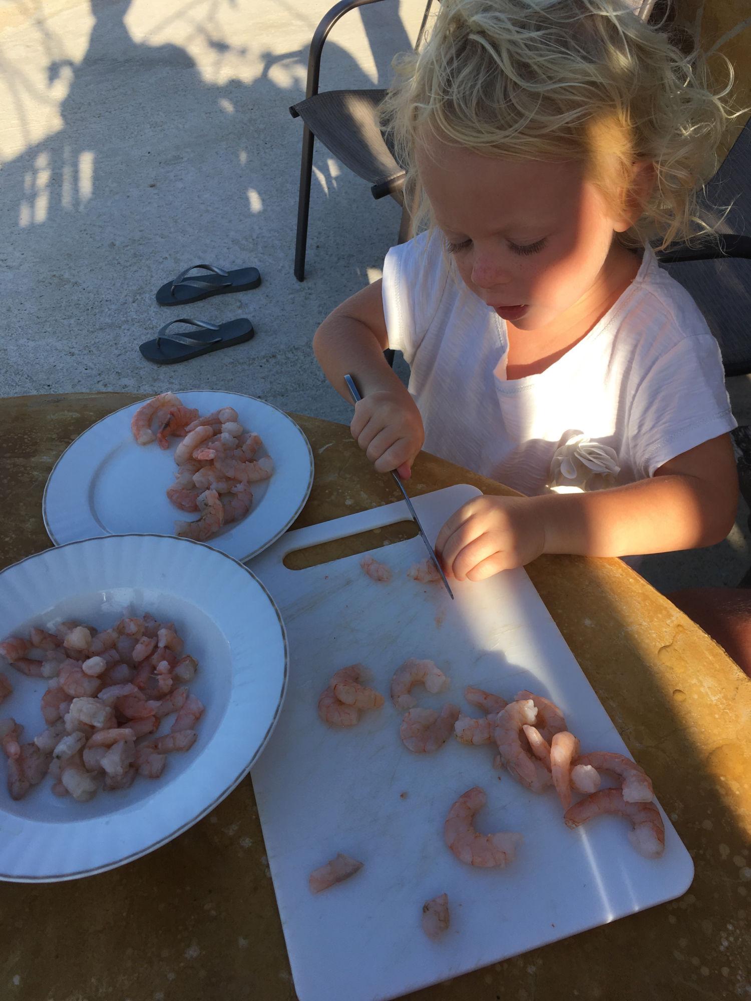 varenie s dieťaťom