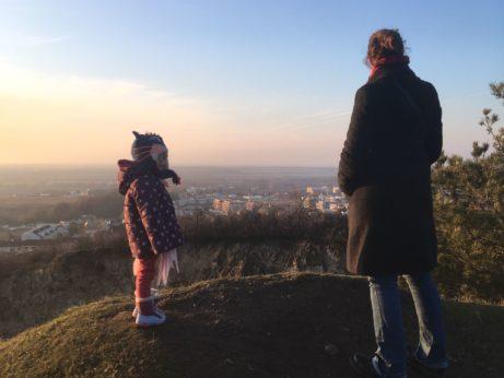 návštevy a deti