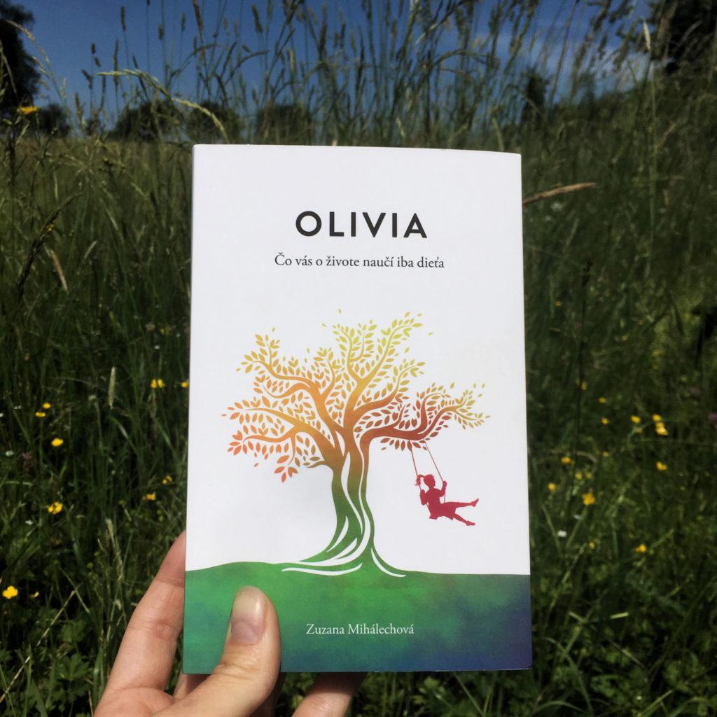 choré dieťa, zdravé dieťa, šťastné dieťa, kniha OLIVIA