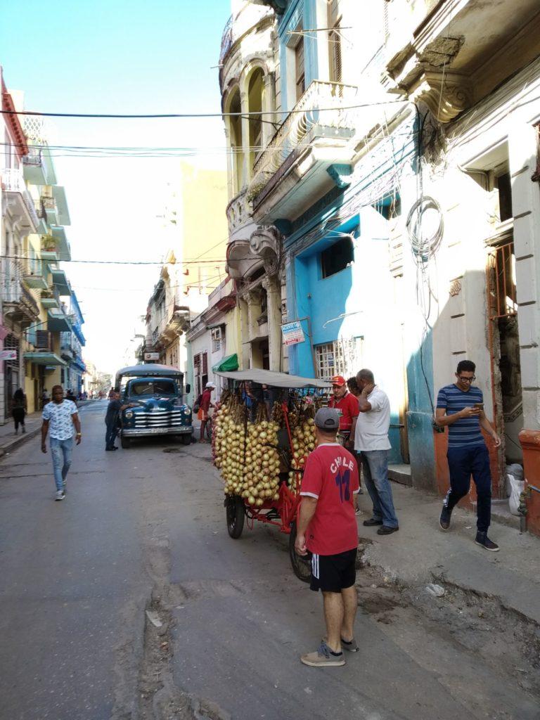 Kuba, cestovanie, jedlo