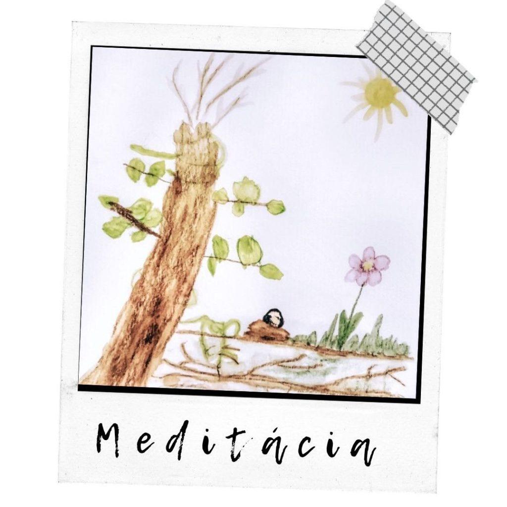 meditacia, deti